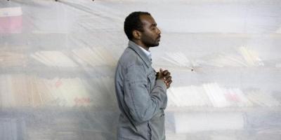 Αλέξανδρος Αβραμίδης, χώρος προσευχής μουσουλμάνων στο υπόγειο της Θεολογικής σχολής, ΦΣΚ 2017