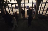 """Νικος Παναγιωτόπουλος: Εγκαίνια έκθεσης Λουίζα Γκουλιαμάκη & Milos Bicanski, """"Balkan Route"""" (ΦΣΚ 2016)"""